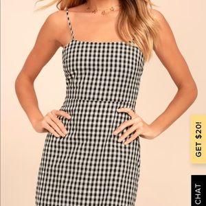 Lulu's Dresses - Mini Gingham Dress